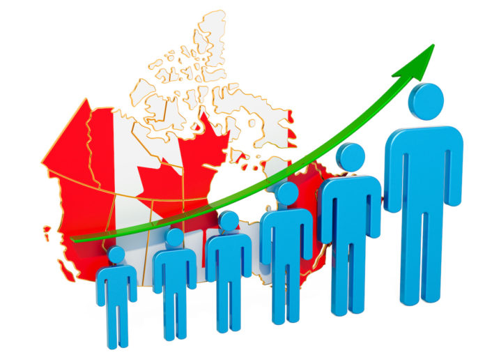 Canada's population growth tremendously buoyed by immigration during the Covid-19 pandemic