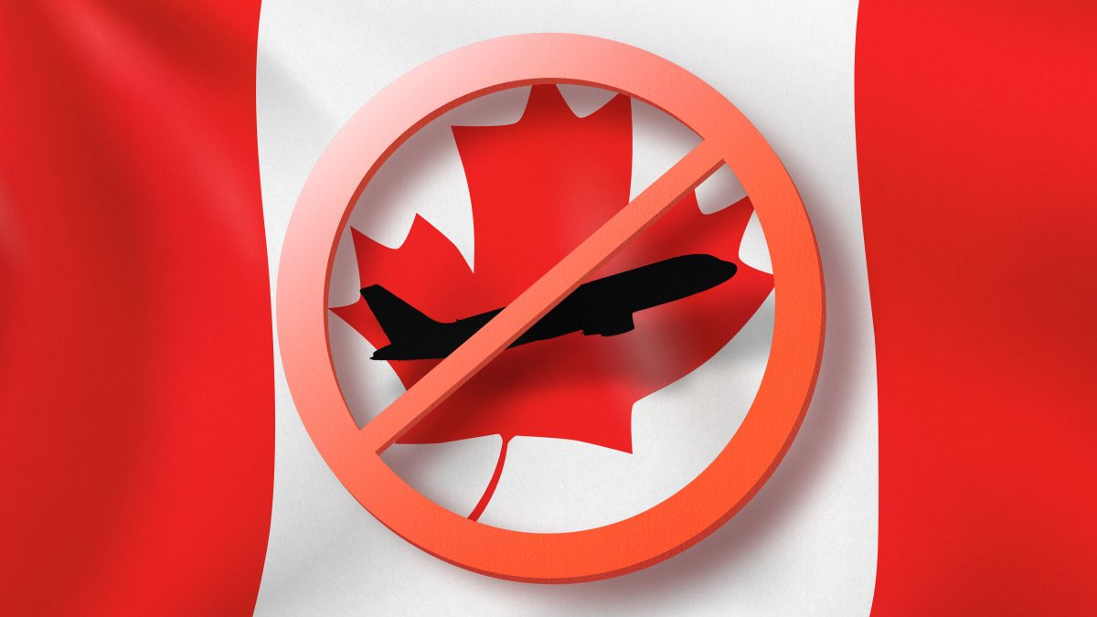 Canada Extends International Travel Restrictions By Another Two Months